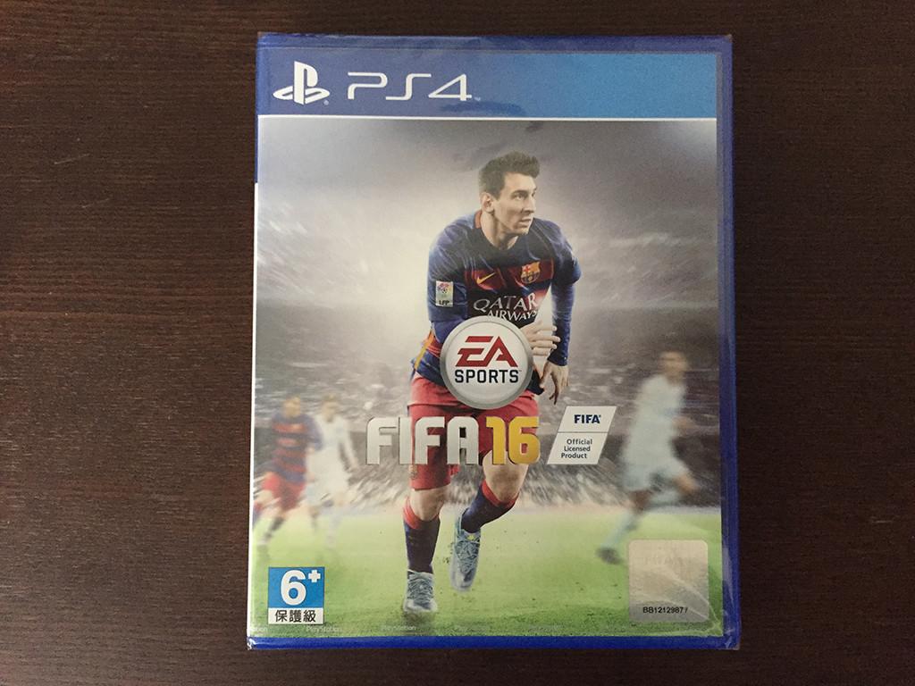 FIFA16アジア版のパッケージ