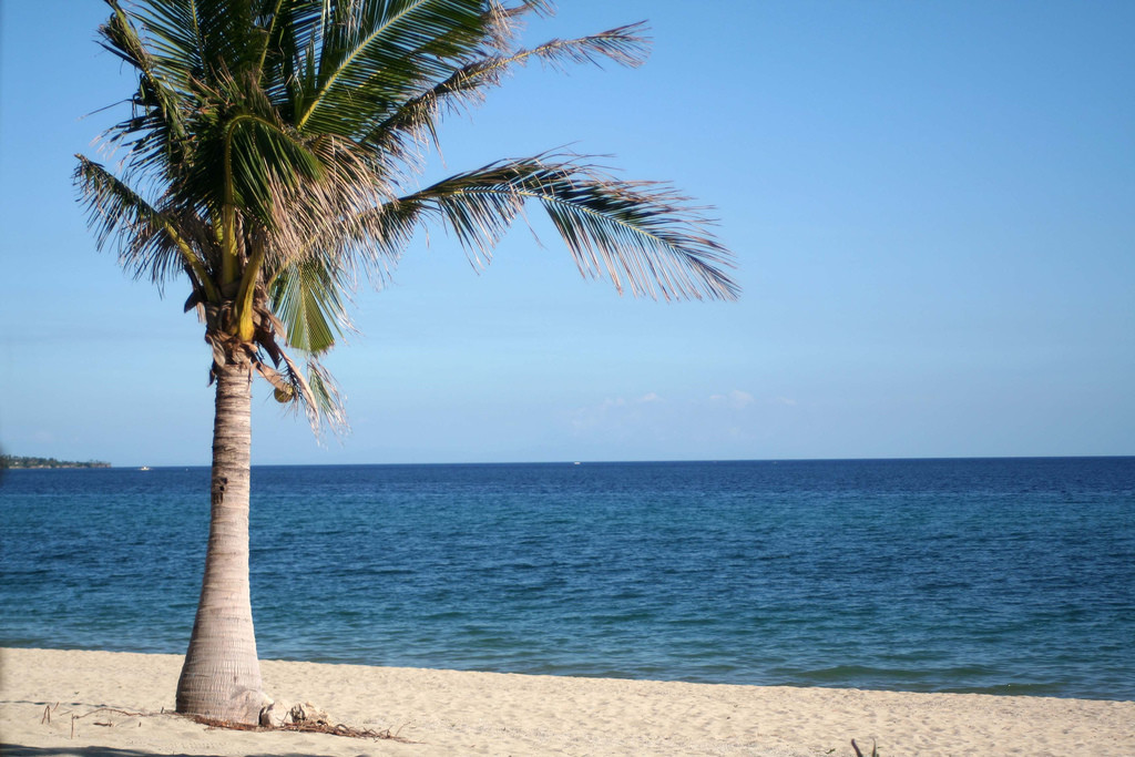 フィリピンのきれいなビーチ