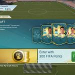 FIFA16 UTのドラフトにリベンジ!アルティメットで最後まで勝ち抜けるか!?