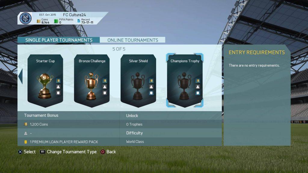 FIFA16のUTでカップ戦に再挑戦