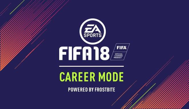 FIFA18キャリアモード