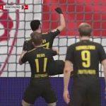 FIFA18キャリアモードの結果 ドルトムント2017年10月~12月