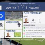 FIFA19選手キャリアモード 1年目J1リーグ開幕サガン鳥栖戦