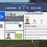 FIFA19選手キャリアモード 1年目J1リーグ前半サンフレッチェ広島戦