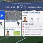 FIFA19選手キャリアモード 1年目ルヴァンカップGS-4名古屋グランパスエイト戦