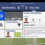 FIFA19選手キャリアモード 1年目J1リーグ前半柏レイソル戦